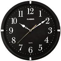 Casio 卡西欧 室内挂钟 指针式 黑色 IQ-88-1JF