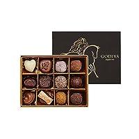 GODIVA 歌帝梵 双享经典巧克力礼盒12颗装 155g(比利时进口)(亚马逊自营商品, 由供应商配送)