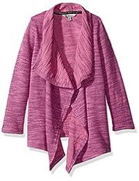 Calvin Klein 女童大标记针织开衫
