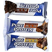 Pure Protein Bar 18 Piece Variety Pack 1.76 Ounces