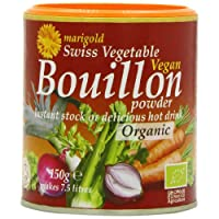 Marigold Organic Bouillon Powder 150 g (Pack of 6)