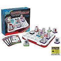 Think 趣味激光迷宫(1 类)逻辑游戏和 STEM 玩具,适合 8 岁及以上男孩和女孩使用 - 屡获殊荣的孩子游戏