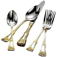 Old Country Roses 20-Piece Flatware Set