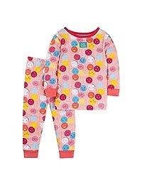 Lamaze 女童有机长袖紧身睡衣套装 2 件套