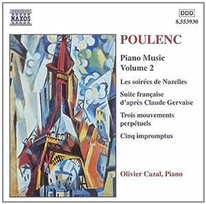 进口CD:普朗克:钢琴曲集(第2辑) Poulenc:Piano Music,Vol.2(CD)8.553930