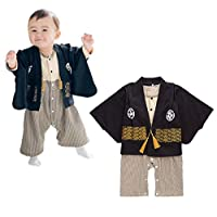 FANCYKIDS 婴幼儿男童日本和服武士服装