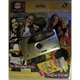 Minolta Vectis 100BF - Point & Shoot 相机 - APS - 镜头:24 mm - 黑色,金属银