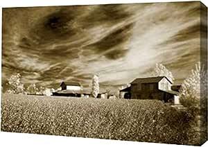 "PrintArt GW-POD-11-PSHSF-506-24x16""Swirling Sky"" 由 Alan Hausenflock 画廊装裱艺术微喷油画艺术印刷品,60.96 cm x 40.64 cm"