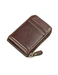 Geremen 纯手工缝制 风琴系列头层牛皮卡包 零钱包 小包 杂物包 公交卡包 8181