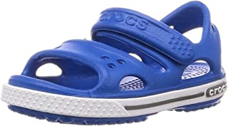 Crocs 卡骆驰 Crocband Ii 儿童踝带凉鞋