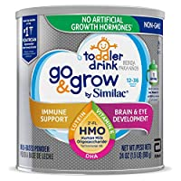 Abbott 雅培 Similac Go&Grow 婴幼儿饮品,带有2'-FL HMO,粉末状,24盎司(680克)