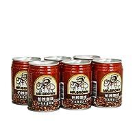 伯朗咖啡 卡布奇诺风味咖啡饮料 三合一即饮品 240ml*6罐装