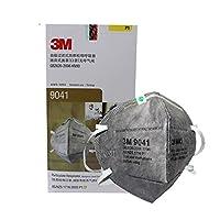 3M 9041口罩耳戴式 活性炭除异味 防雾霾 PM2.5口罩25只/盒(亚马逊自营商品 由供应商配送)