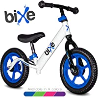 Bixe 极轻(4 磅)平衡自行车,适合 18 个月至 5 岁儿童 蓝色 12EX