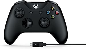 Microsoft 微软 Xbox One 控制器手柄 蓝牙/有线连接/xbox one/适配Windows 附Windows 连接线 4N6-00003