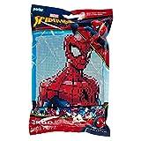 Perler Beads 漫威蜘蛛侠图案和熔珠套装,11 英寸 X 11 英寸,3503 件