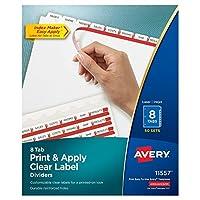 Avery Economy Binder,2.54cm 圆形戒指,175张容量,蓝色,1/EA (03300) 50 Sets (2-Pack)