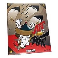 Kidrobot 出品的 20 件鄧尼戰爭藝術 2014 款乙烯基迷你人物