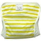 涂料条纹尿布裤 jf115b 日本制造  黄色 95