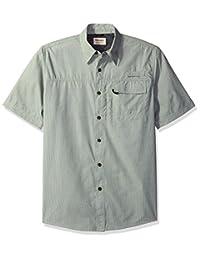 牧马人 authentics 男式短袖 hiker 工具衬衫