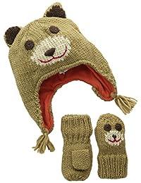 The Children's Place Baby Boys' Infant Bear Mitten & Hat Set