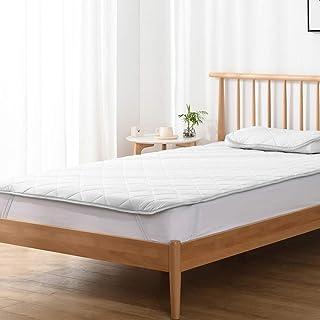 Kumori 褥垫 凉爽触感 速干型 床单 夏季用 凉垫 可洗 *、防臭、* 灰色 セミダブル・120X200cm SP-H-GR2