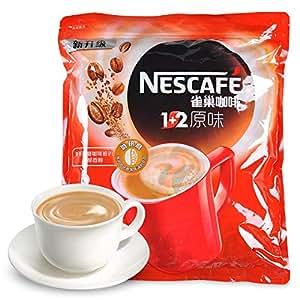 雀巢咖啡1500g 1+2原味咖啡15g*100包 三合一速溶餐饮咖啡粉袋装 (1袋)