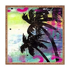 DENY Designs Sophia Buddenhagen Oasis Square Tray, M