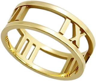 [蒂芙尼] TIFFANY 18KYG 黃金 阿特拉斯 開口戒指 指環