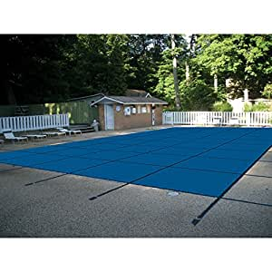 Water Warden Pool Safety Cover 蓝色 18 x 38 ft.