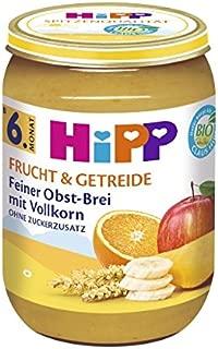 Hipp 喜宝 精细全麦水果燕麦辅食 ,6个月以上适用,6罐(6 x 190克)