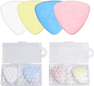 4 件裁缝粉笔三角裁缝面料标记粉笔 - 三角粉笔用于裁缝、绗缝、工艺、织物标记-缝纫理念和配件(白色、蓝色、黄色、粉色)