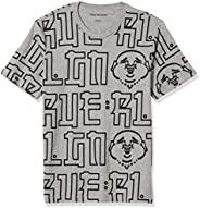 True Religion 男式佛像短袖圆领 T 恤