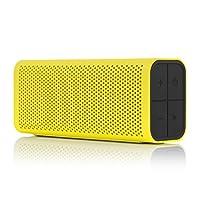 Braven 705便携式无线音箱 黄色塑料外壳 黑色端盖