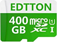 400GB Micro SD SDXC 卡高速 Class 10 存储卡 SD 卡 带 SD 适配器