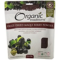 Organic Traditions Organic Powder, Maqui Berry, 3.5 Ounce