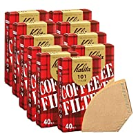 Kalita 咖啡濾紙 40片裝 棕色 1~2人用