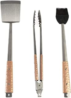 Companion Group 铜制手柄烧烤工具 3 件套