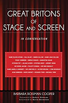 """""""Great Britons of Stage and Screen: In Conversation (English Edition)"""",作者:[Cooper, Barbara Roisman]"""
