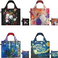 LOQI 乐奇 花束 妈妈 睡莲 星夜 博物馆可重复使用 袋子 4件套 A72383