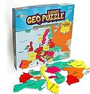 "Geotoys Europe GEOPUZZLE 形状; 均码 ""Multi"""