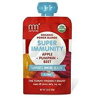 NurturMe Power Blends Organic Baby Food Pouch, Apple + Pumpkin + Beet, 3.5 Ounce (Pack of 12)