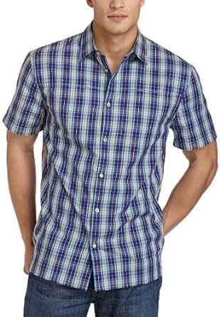 WeSC Men's Devin Short-Sleeve Shirt  Golden Khaki Medium