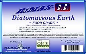 PERMA-GUARD FOOD GRADE DIATOMACEOUS EARTH (2lb 5lb 10lb 20lb 30lb 40lb 50lb) - Fresh Water - 100% Pure DE Mined in the USA - Distributed by RiMAX-DE 白色 20LB