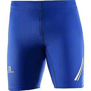 Salomon 萨洛蒙 男式 Agile 短裤 网上冲浪,蓝色连衣裙 X-S