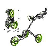 CaddyTek Caddylite 15.3 V2 - 高级四折叠高尔夫球推车