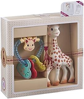 Sophie la Girafe 心形拨浪鼓