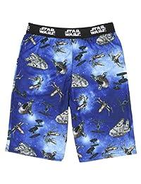 星球大战男孩青年星际战斗机千年隼领带战斗机X翼睡衣短裤