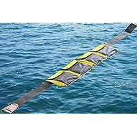 AKM-Scuba 潜水口袋重量带黄色(4 个口袋)