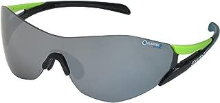 SWANS 运动 太阳镜 限量颜色 索普罗 镜面防水款 SC-SOU PRO-3101 BK/G SC-SOU PRO-3101 BK/G 黑色×绿色/银色镜面×*灰色镜片(两面防水加工)